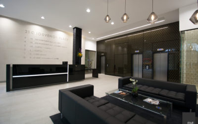 GROSVENOR PLACE | RECEPTION DESIGN